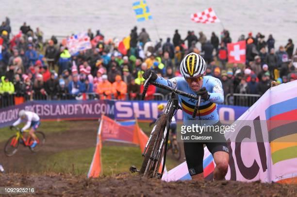 Timo Kielich of Belgium and Team Belgium / during the 70th Cyclo-cross World Championships Bogense 2019, Men Under 23 / Cross Denmark / @Bogense2019...