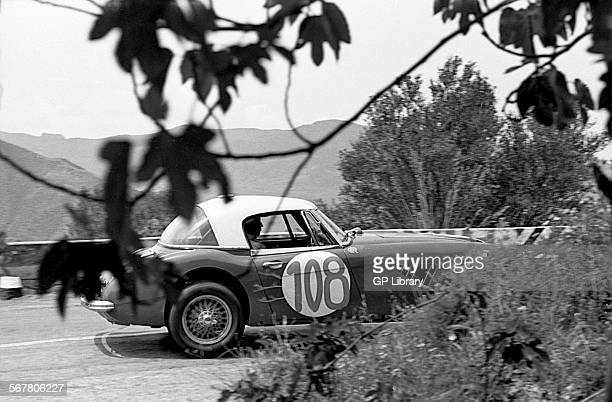 Timo MakinenPaul Hawkins' Austin Healey 3000 racing in the Targa Florio Sicily 1965