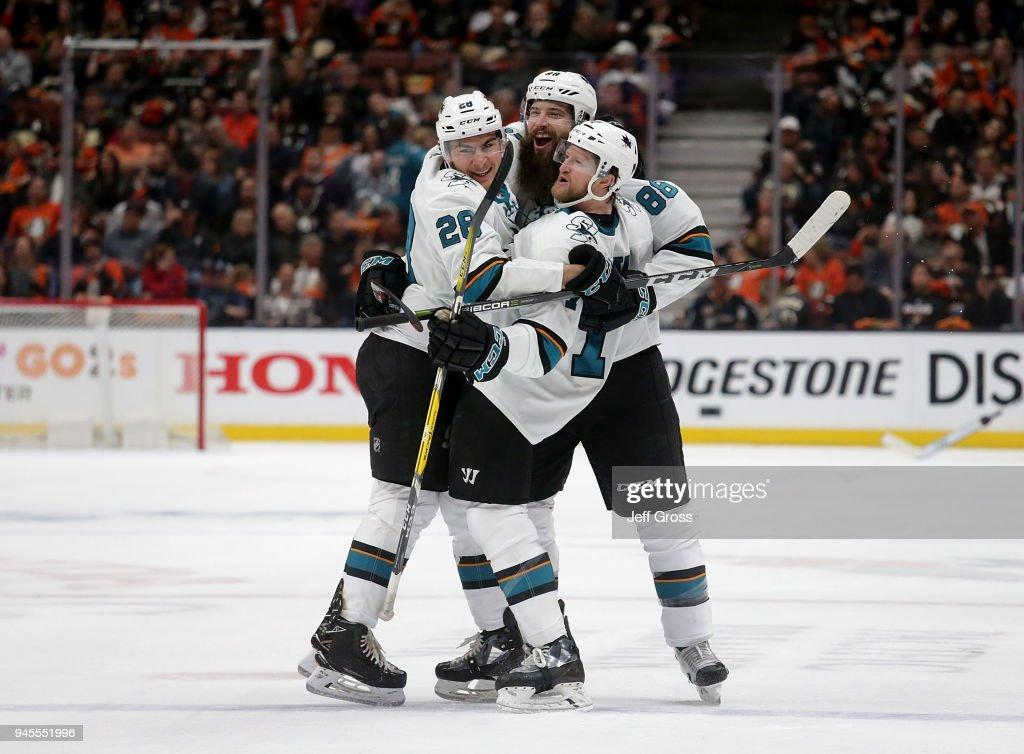 San Jose Sharks v Anaheim Ducks - Game One