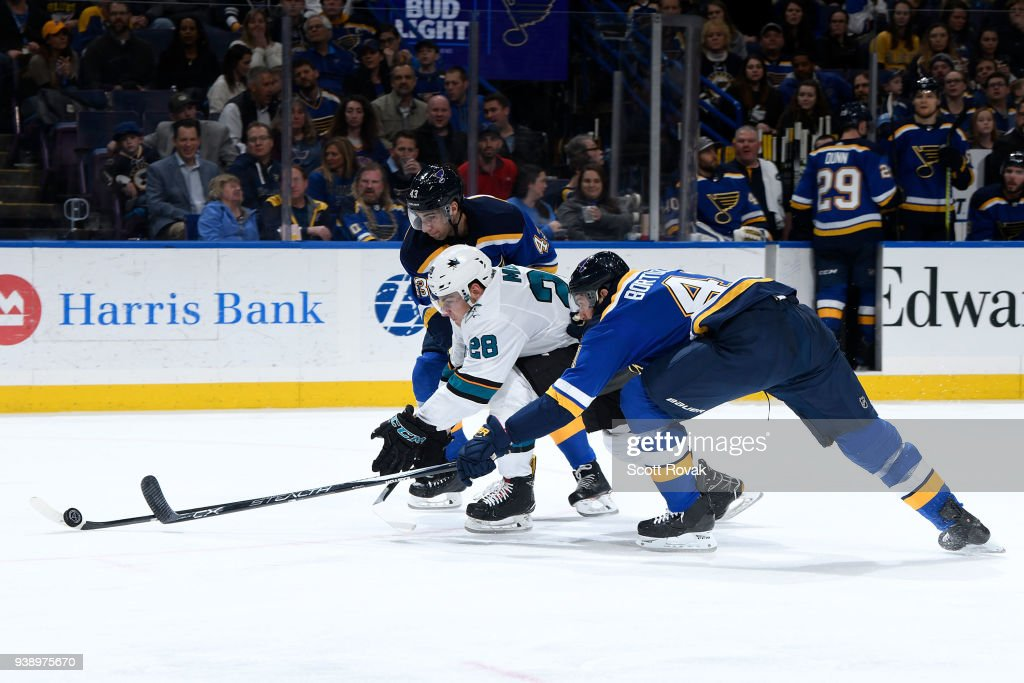 San Jose Sharks v St Louis Blues