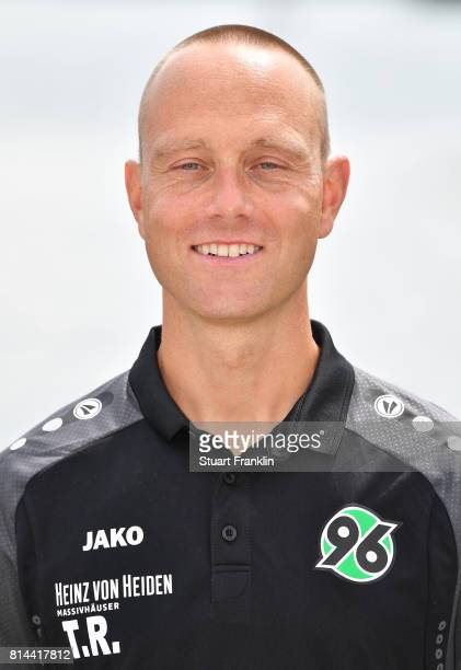 Timo Rosenberg athletic coach of Hannover 96 poses during the team presentation at on July 14 2017 in Hanover Germany