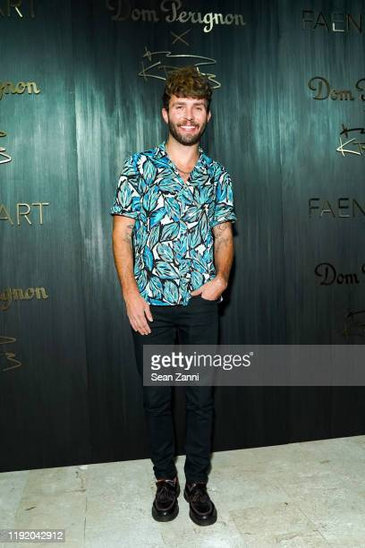 Timo Weiland attends Dom Perignon Last Supper Party Hosted By Lenny Kravitz And Alan Faena on December 04 2019 in Miami Florida