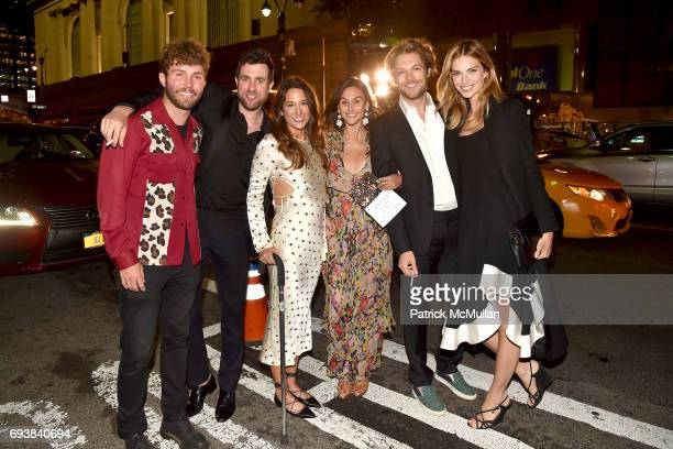 Timo Weiland Kristian Laliberte Savannah Engel Danielle Snyder Emerson Barth and Emily Senko attend the Gordon Parks Foundation Awards Dinner Auction...