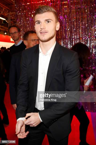 Timo Werner attends the Ein Herz Fuer Kinder Gala reception at Studio Berlin Adlershof on December 9 2017 in Berlin Germany