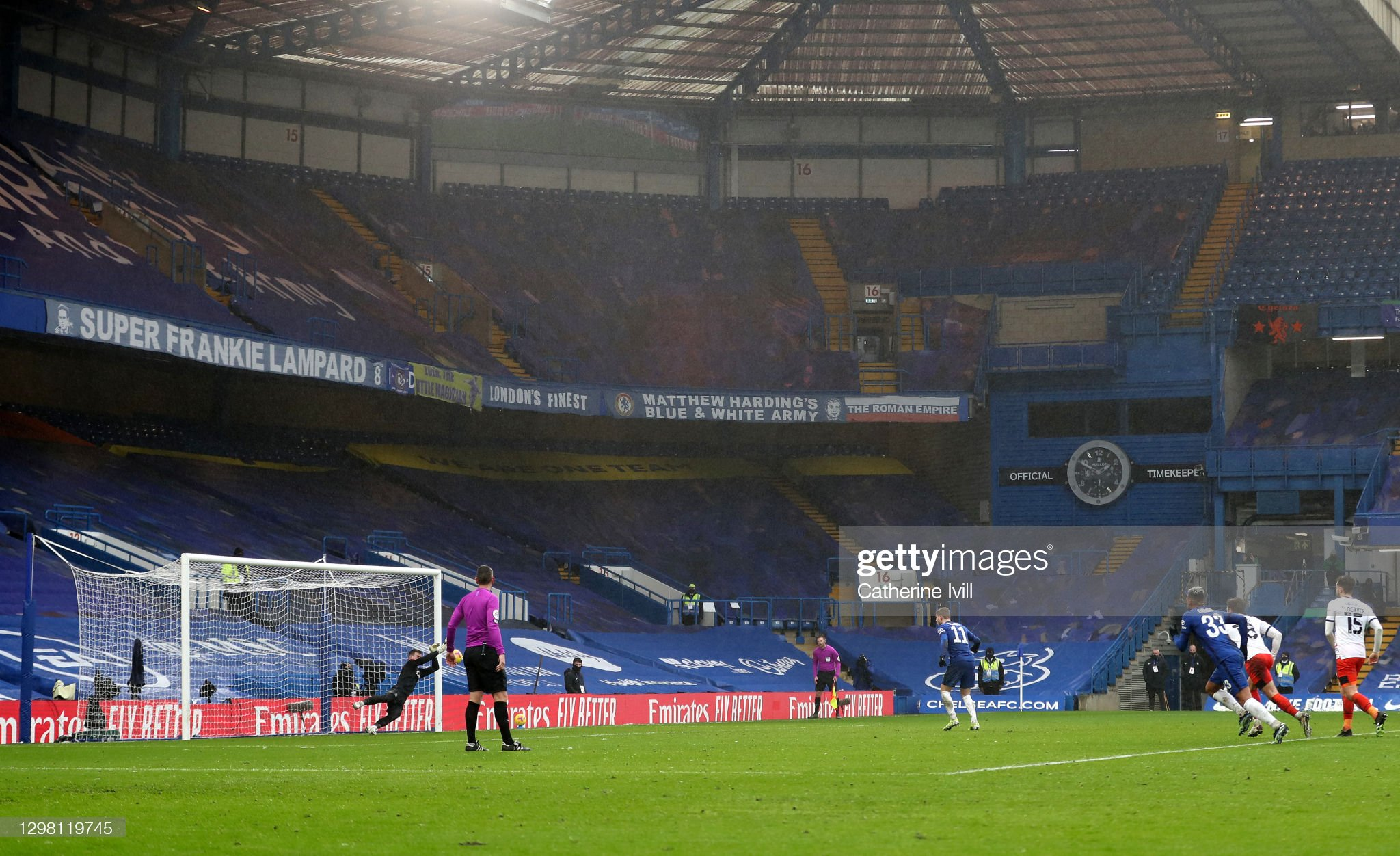 Chelsea v Luton Town: The Emirates FA Cup Fourth Round : News Photo