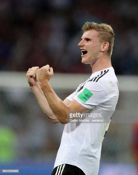 Timo Werner of Germany during the 2018 FIFA World Cup Russia group F match between Germany and Sweden at Fisht Stadium on June 23 2018 in Sochi Russia