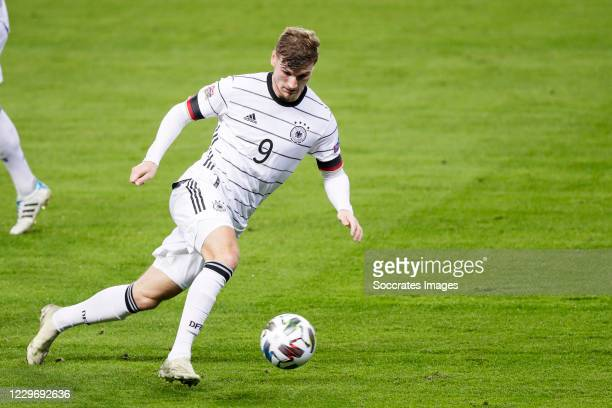 Timo Werner of Germany during the UEFA Nations league match between Spain v Germany at the la Cartuja Stadium on November 17 2020 in Sevilla Spain