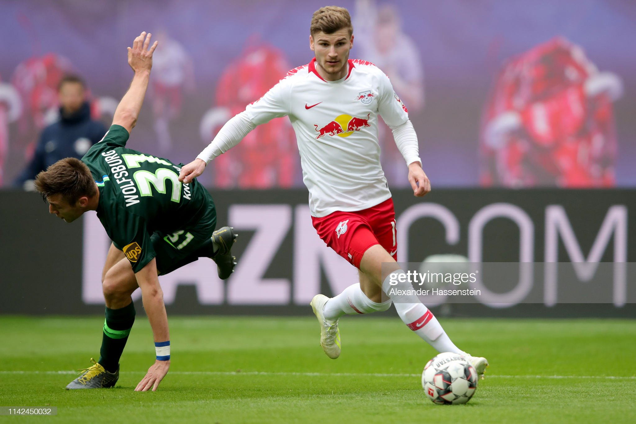 RB Leipzig v VfL Wolfsburg - Bundesliga : News Photo