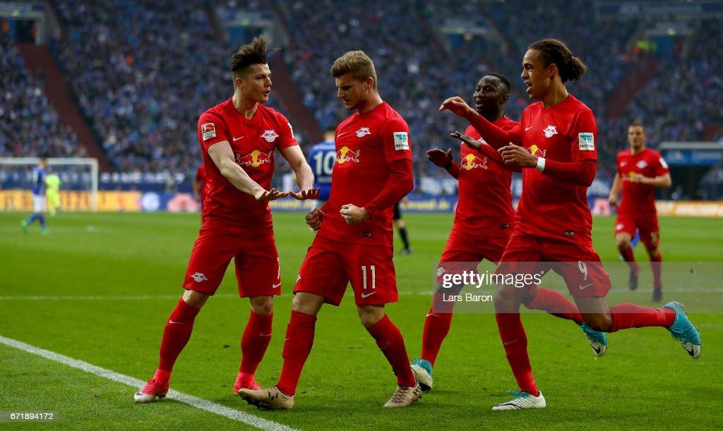 FC Schalke 04 v RB Leipzig - Bundesliga : News Photo
