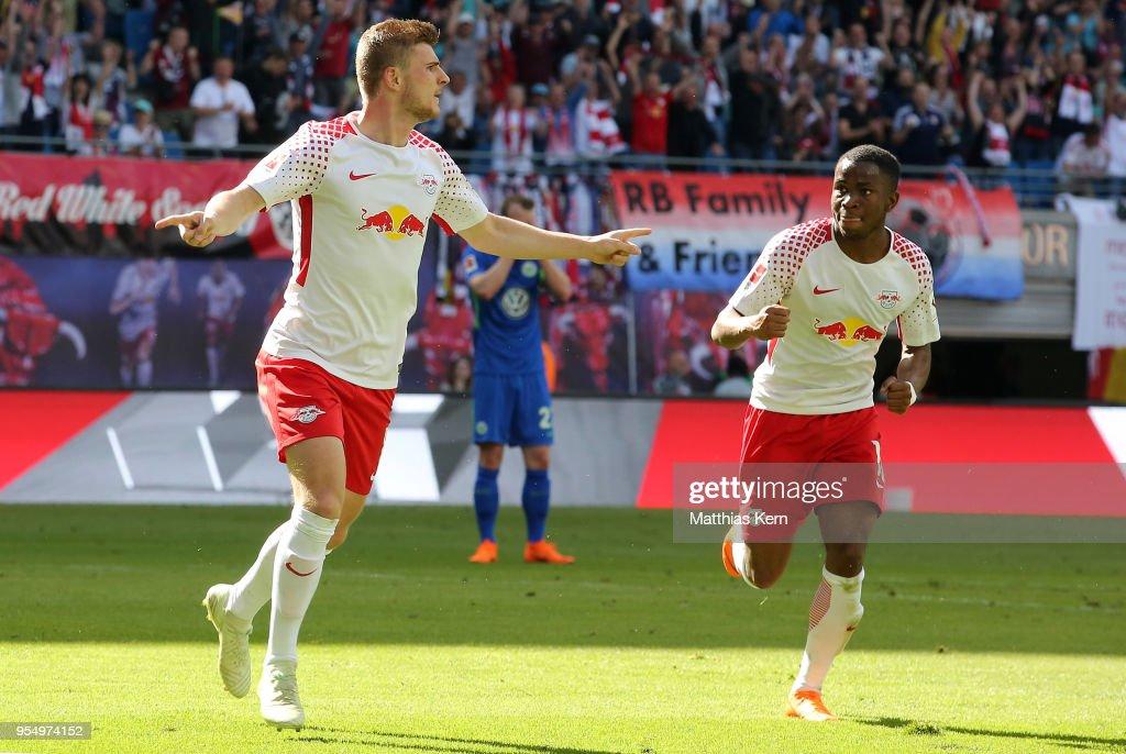 RB Leipzig v VfL Wolfsburg - Bundesliga : ニュース写真