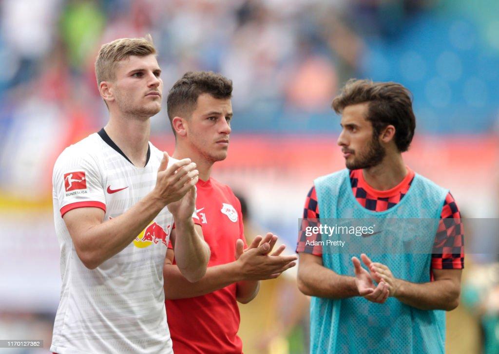 RB Leipzig v Eintracht Frankfurt - Bundesliga : ニュース写真