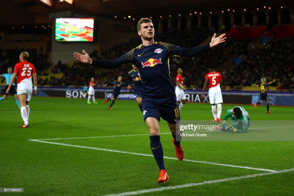 AS Monaco v RB Leipzig - UEFA Champions League : Foto jornalística