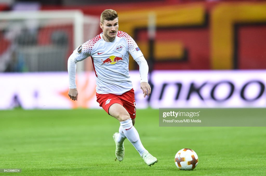 RB Leipzig v Olympique Marseille - UEFA Europa League Quarter Final Leg One : News Photo