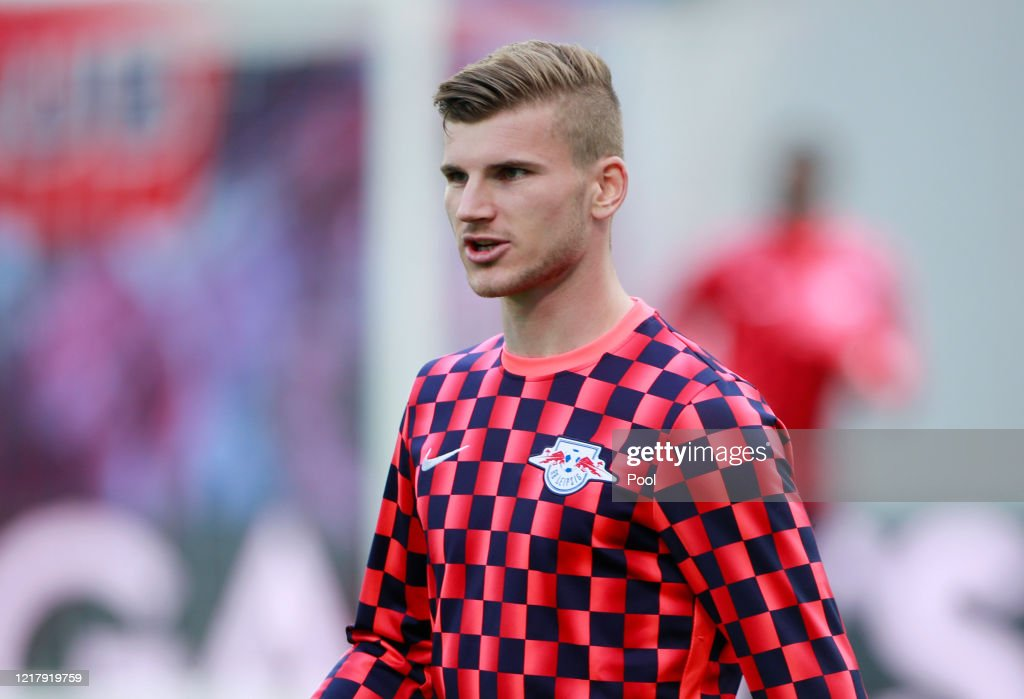 Timo Werner Of Rb Leipzig Looks On During The Warm Up Prior To The News Photo Getty Images