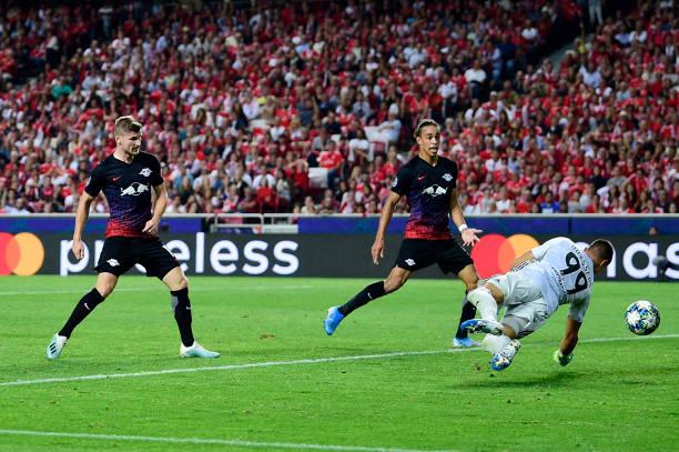 PRT: SL Benfica v RB Leipzig: Group G - UEFA Champions League