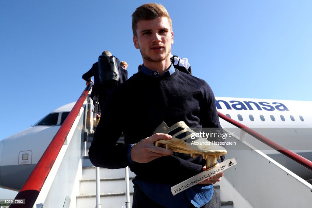 Germany Welcome Home Celebration - 2017 FIFA Confederations Cup Russia : News Photo