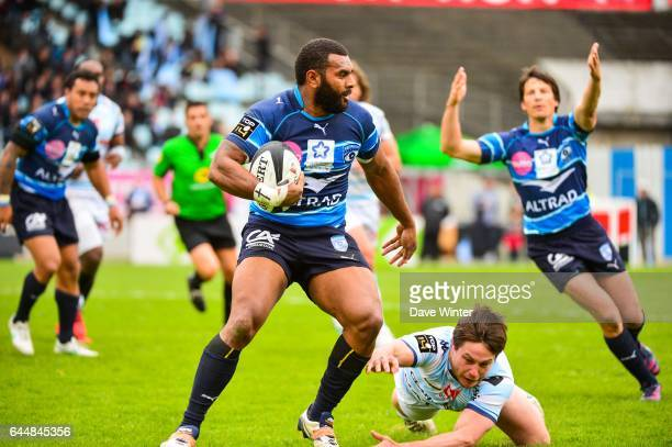 Timoci NAGUSA / Henry CHAVANCY Racing Metro / Montpellier 22eme journee de Top 14 Photo Dave Winter / Icon Sport