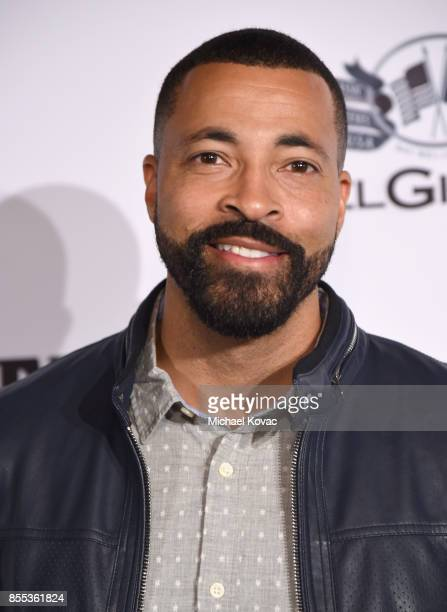 Timon Kyle Durrett at the Men's Fitness Game Changers event at Goldstein Residence on September 28 2017 in Beverly Hills California