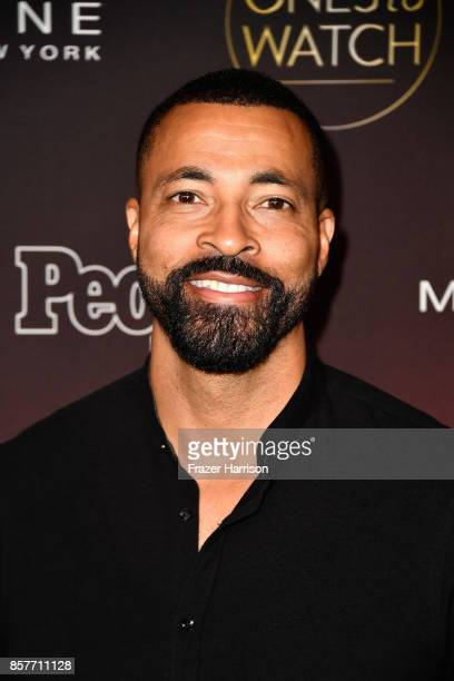 Timon Kyle Durrett attends People's Ones To Watch at NeueHouse Hollywood on October 4 2017 in Los Angeles California