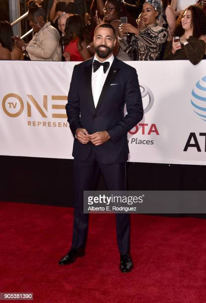 Timon Kyle Durrett attends the 49th NAACP Image Awards at Pasadena Civic Auditorium on January 15 2018 in Pasadena California