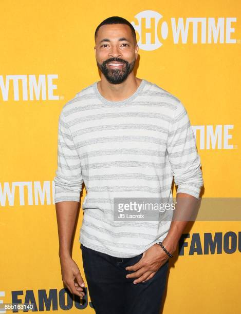 Timon Kyle Durrett attends the premiere of Showtime's 'White Famous' on September 27 2017 in Los Angeles California