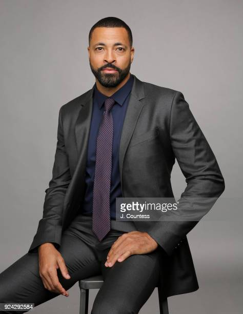 Timon Kyle Durrett poses for a portrait during the 2018 American Black Film Festival Honors Awards at The Beverly Hilton Hotel on February 25 2018 in...