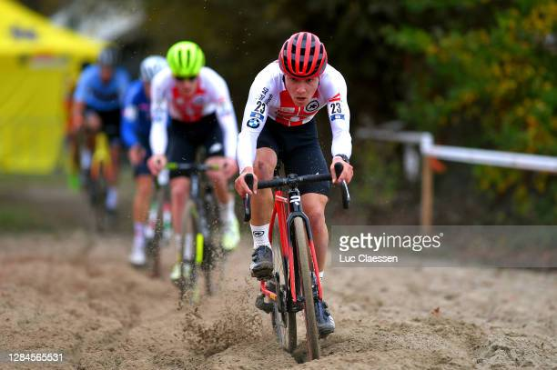 Timon Ruegg of Switzerland / during the 18th UEC European Cyclocross Championships 2020, Men Elite / @UEC_cycling / #EuroCross20 / CX / on November...
