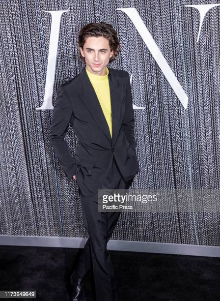 Timothée Chalamet attends the New York premiere of The King at SVA Theater Manhattan