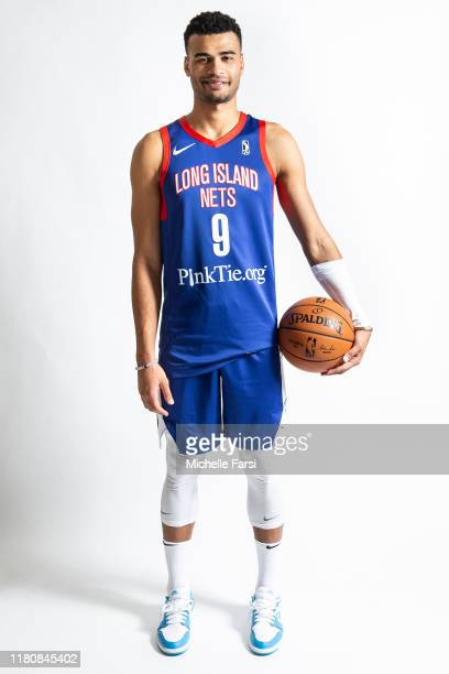 Timothe LuwawuCabarrot of the Long Island Nets poses for a portrait during their NBA G League Media Day on November 7 2019 at Yes We Can Community...
