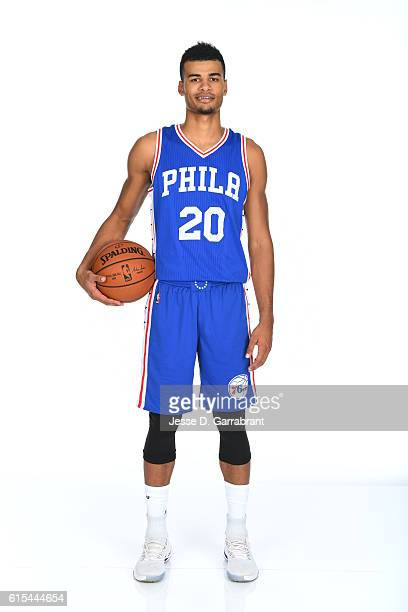 Timothe LuwawuCabarrot of the Philadelphia 76ers poses for a photo at the76ers Training Complex on October 172016 in Camden New Jersey NOTE TO USER...