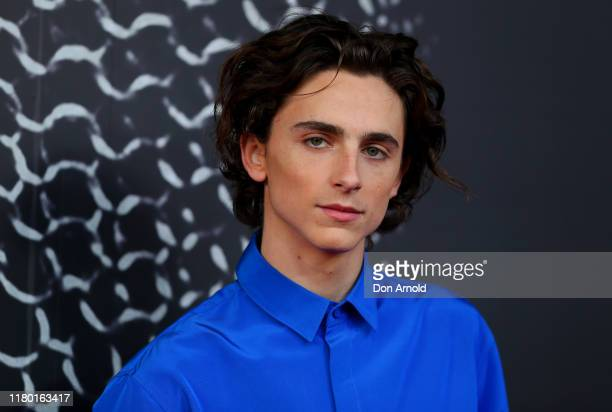 Timothee Chalamet attends the Australian premiere of THE KING at Ritz Cinema on October 10, 2019 in Sydney, Australia.