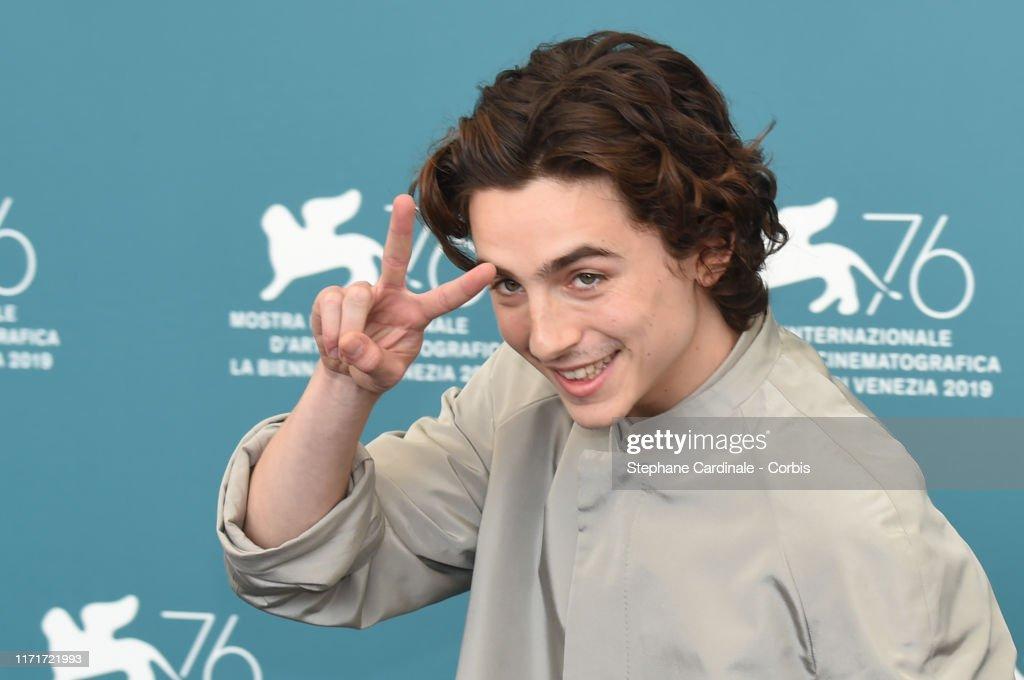 """""""The King"""" Photocall - The 76th Venice Film Festival : Foto di attualità"""