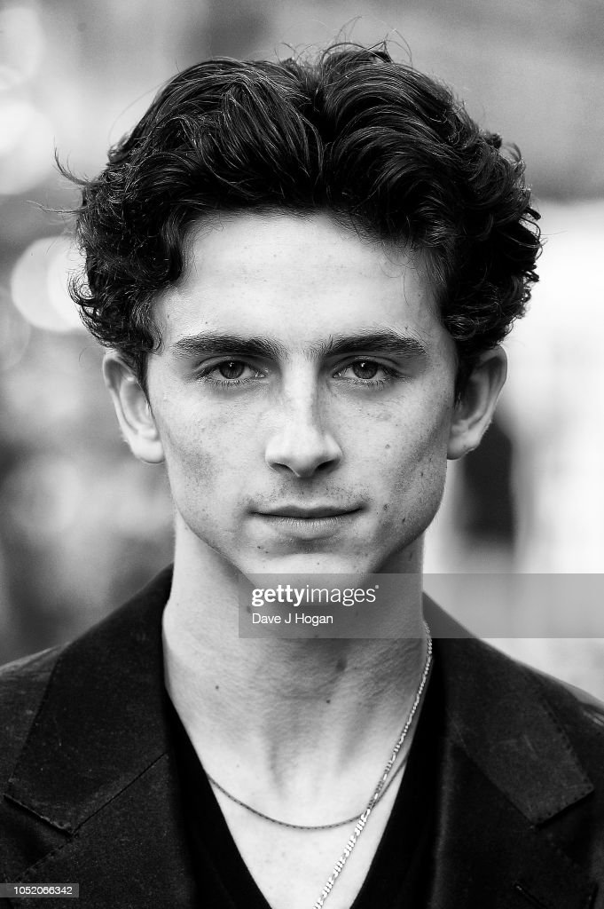 Timothee Chalamet attends the UK Premiere of 'Beautiful ...