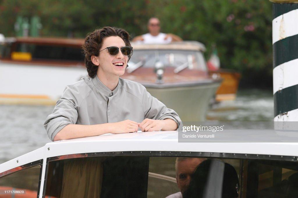 Celebrity Sightings During The 76th Venice Film Festival - September 2, 2019 : Foto di attualità