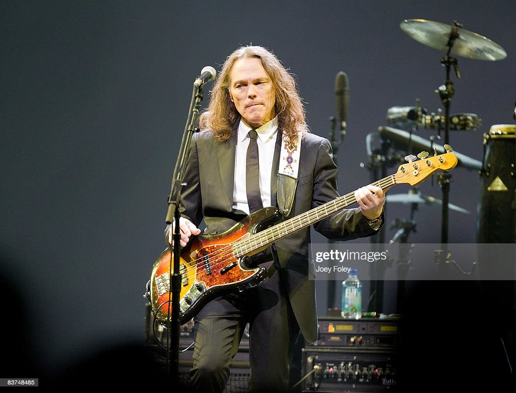Timothy B. Schmit of The Eagles performs live on the Long Road Out Of Eden Tour at U. S. Bank Arena on November 18, 2008 in Cincinnati, Ohio.