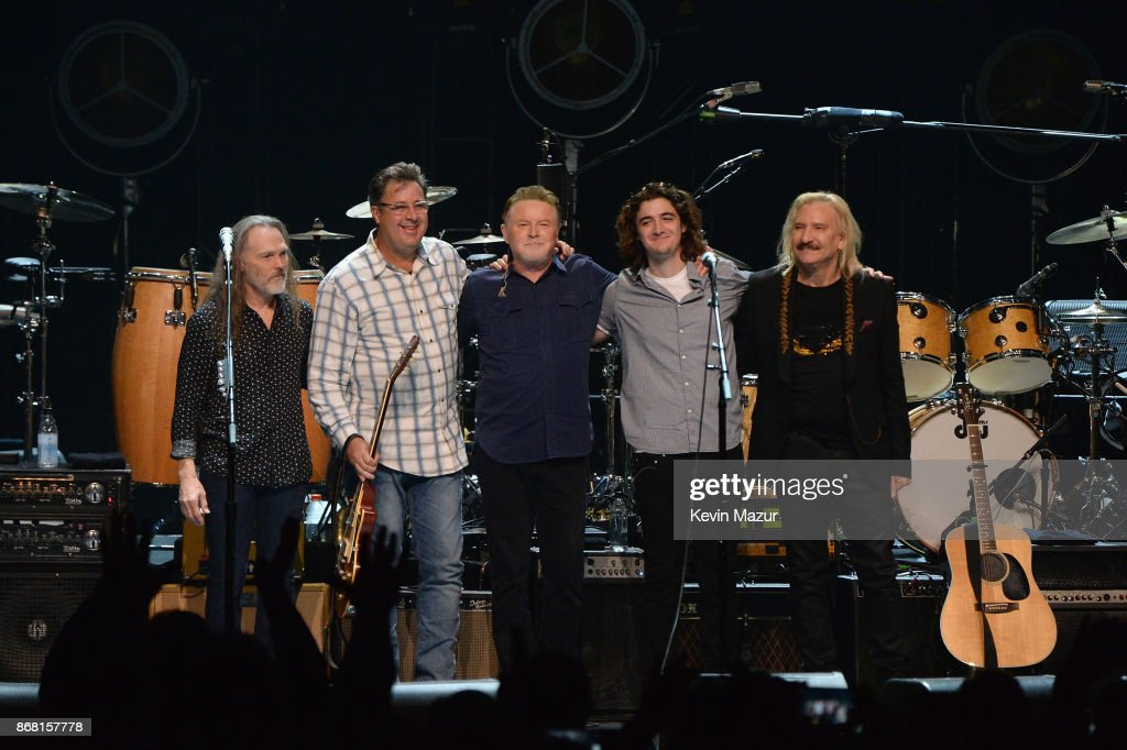 SiriusXM Presents Eagles In Their First Ever Concert At The Grand Ole Opry House In Nashville : News Photo
