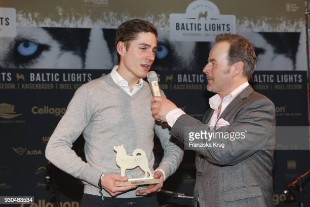 Timothy Boldt and Till Demtroeder during the 'Baltic Lights' charity event on March 10 2018 in Heringsdorf Germany The annual event hosted by German...