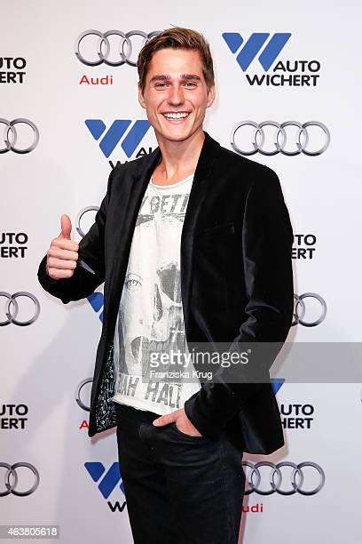 Timothy Boldt attends the AUDI Terminal Opening on February 18 2015 in Hamburg Germany