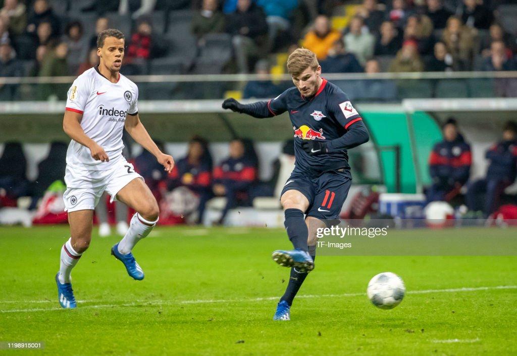 Eintracht Frankfurt v RB Leipzig - DFB Cup : News Photo