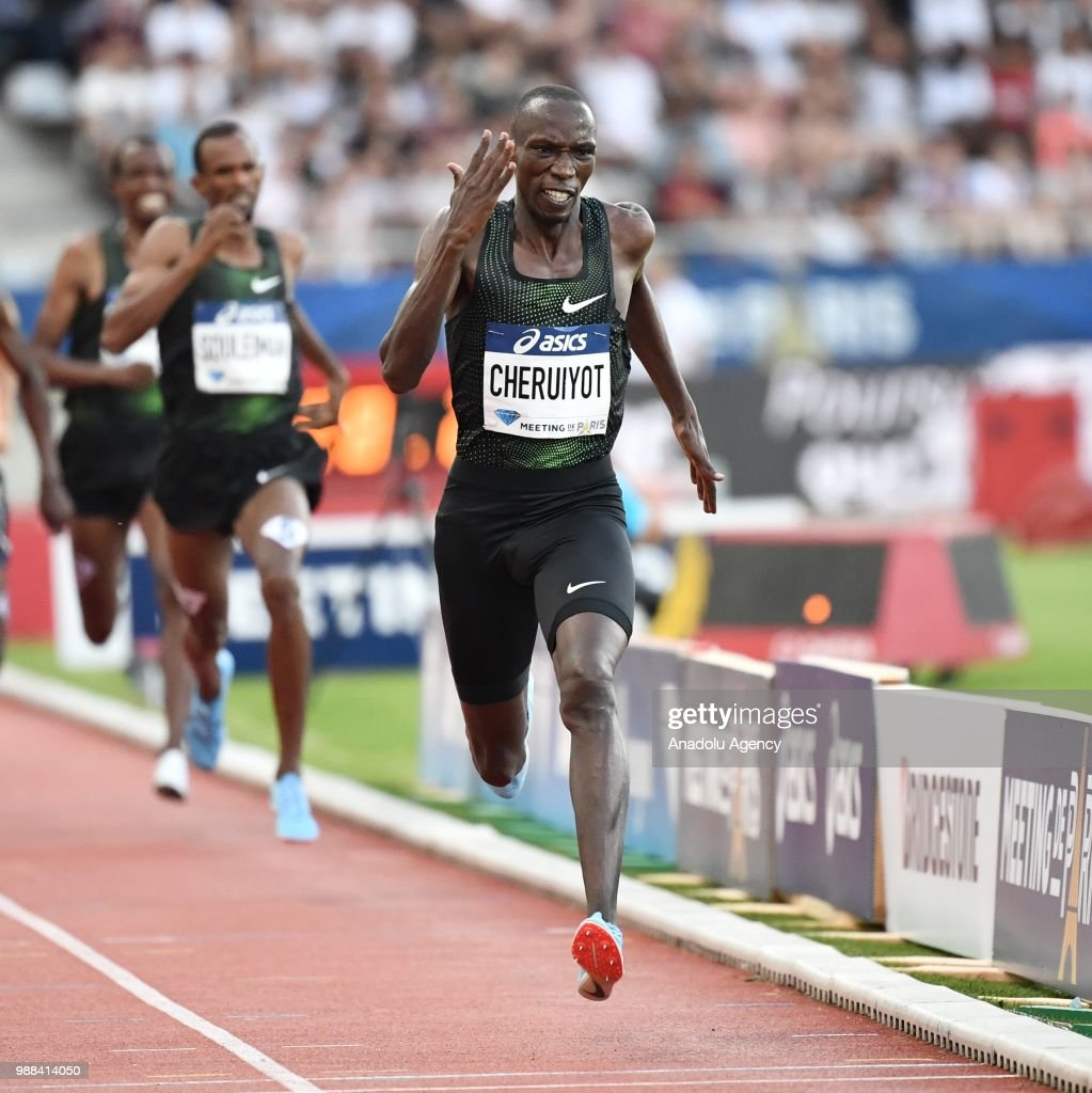 IAAF Diamond League meeting in Paris : News Photo