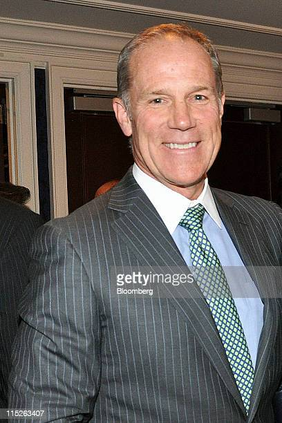Timothy Coleman, senior managing director at the Blackstone Group LP, stands for a photograph at the inMotion photography auction in New York, U.S.,...