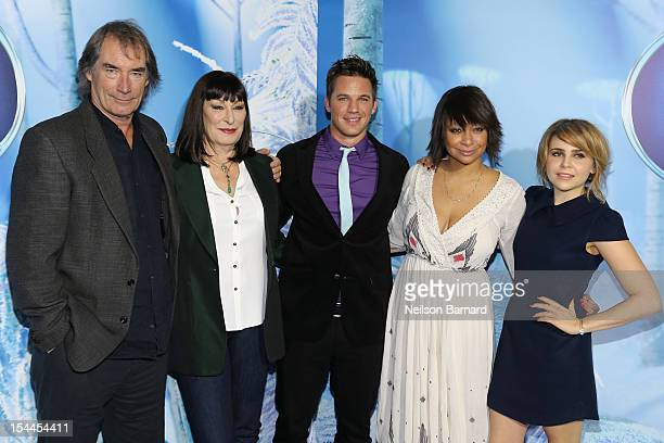 Timothy Dalton Anjelica Huston Matt Lanter RavenSymone and Mae Whitman at AMC Loews Lincoln Square 13 theater on October 20 2012 in New York City