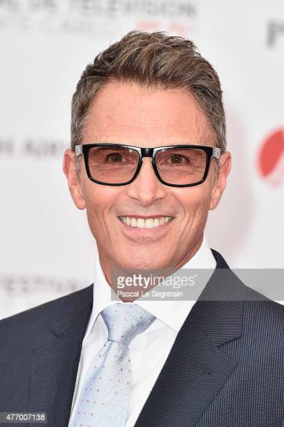 Timothy Daly arrives to attend the opening ceremony of the 55th Monte Carlo TV Festival on June 13 2015 in MonteCarlo Monaco