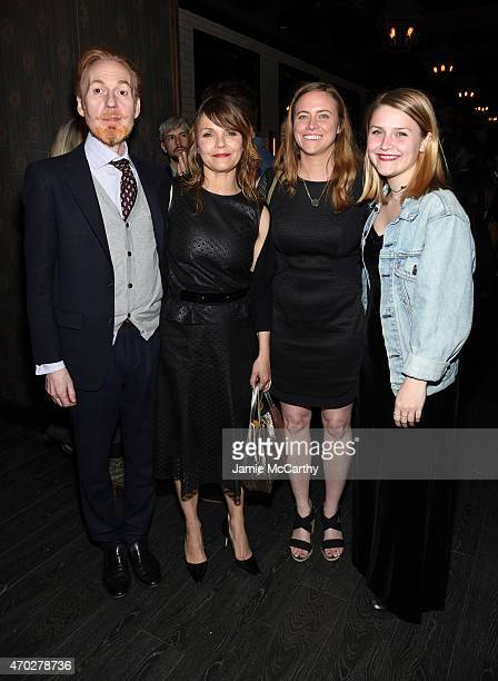 Timothy Doyle Kathryn Erbe Erika Hampson and Maeve Elsbeth Erbe Kinney attend the 2015 Tribeca Film Festival After Party for 'Tumbledown' sponsored...
