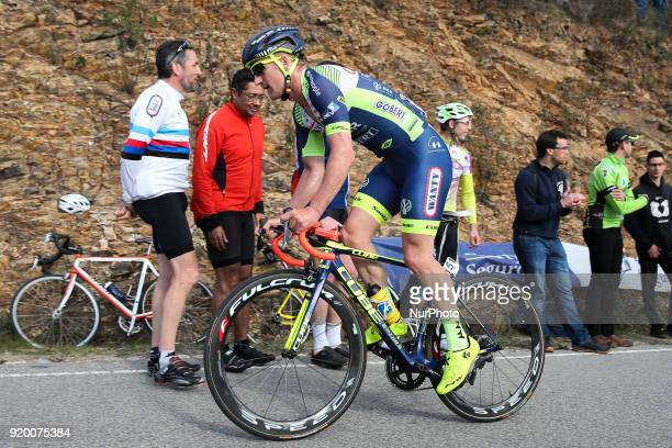 Timothy Dupont of Wanty Groupe Gobert during the 5th stage of the cycling Tour of Algarve between Faro and Alto do Malhao on February 18 2018