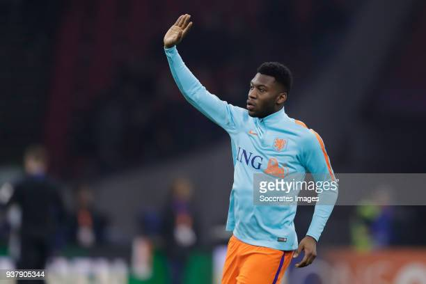 Timothy Fosu Mensah of Holland during the International Friendly match between Holland v England at the Johan Cruijff Arena on March 23 2018 in...