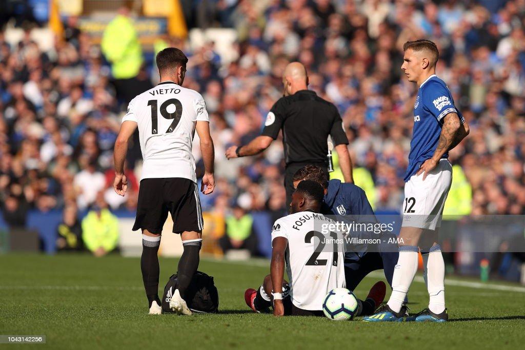 Everton FC v Fulham FC - Premier League : ニュース写真