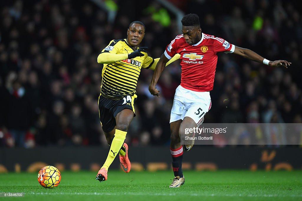 Manchester United v Watford - Premier League : News Photo