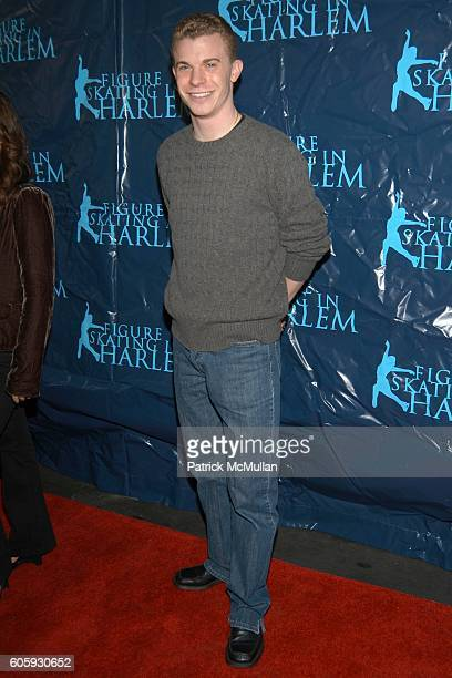 Timothy Goebel attends Second Annual SKATING WITH THE STARS UNDER THE STARS to benefit Figure Skating in Harlem at Wollman Rink on April 10 2006 in...