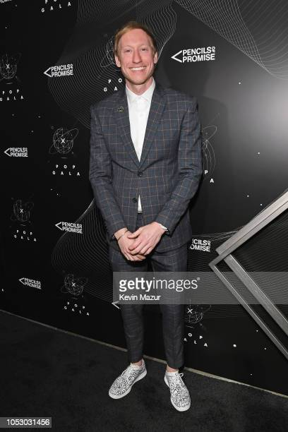 Timothy Goodman attends the Pencils of Promise 10th Anniversary Gala at the Duggal Greenhouse on October 24 2018 in New York City